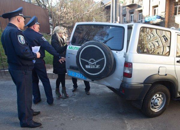 Александра Шевченко получила трое суток административного ареста за участие в акции протеста Бардак в саркофаг