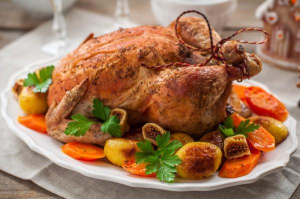 Запеченная курица: рецепт с фото