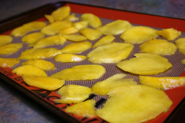 Как приготовить высушенный манго