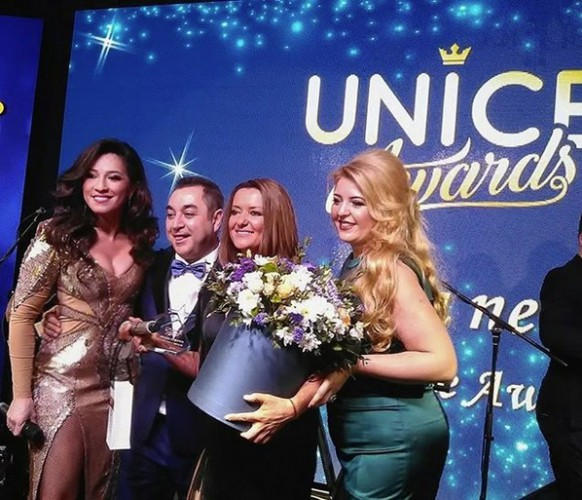 Наталка Карпа на UNICE Awards фото