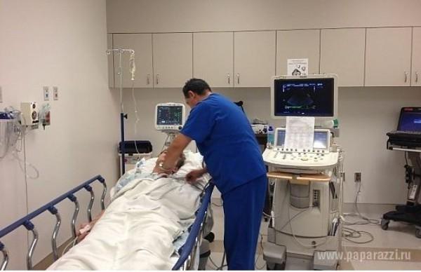Алексей Воробьев в больнице