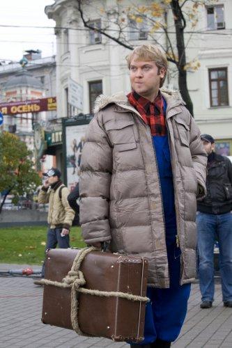 Сергей Светлаков достраивает дом для бывших тещи и тестя