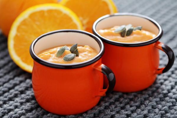 Тыквенно-апельсиновый кисель