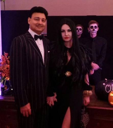 Камалия с мужем отпраздновали Хэллоуин