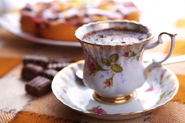 Рецепт                  Горячий шоколад с лесными ягодами