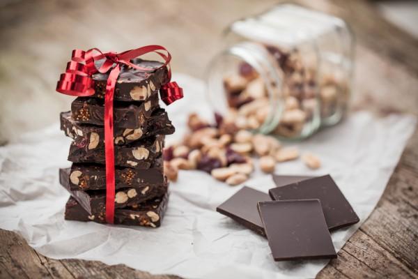 Домашний шоколад на День Валентина