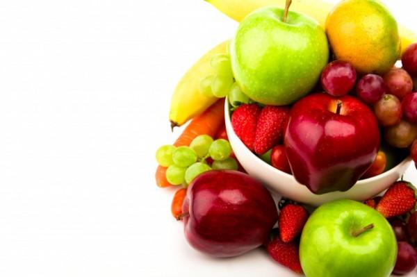 Яблоки содержат много кислот, а виноград очень калориен