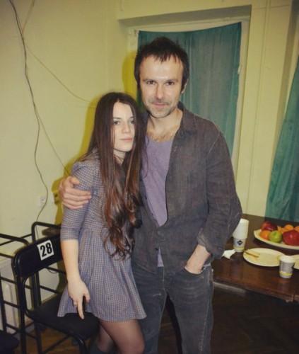 Кристина со своим продюсером Святославом Вакарчуком