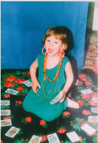 Анастасия Кожевникова в детстве