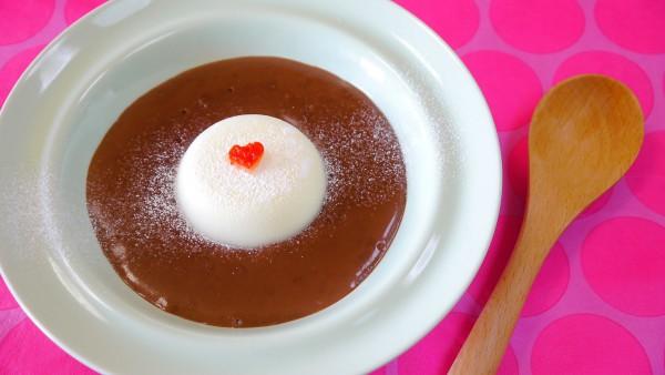 Шоколадный десерт на День Валентина