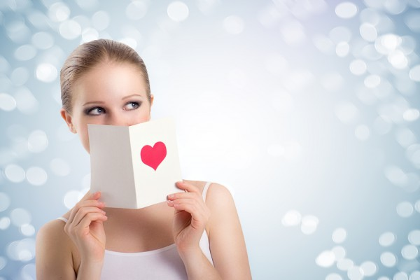 Женщины мечтают о валентинках