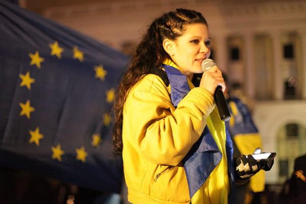 Руслана сделала смелое заявление на Евромайдане