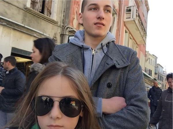 Дочь Алана Бадоева Лолита и приемный сын Борис
