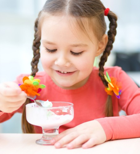 Ребенок будет в восторге от оригинального десерта