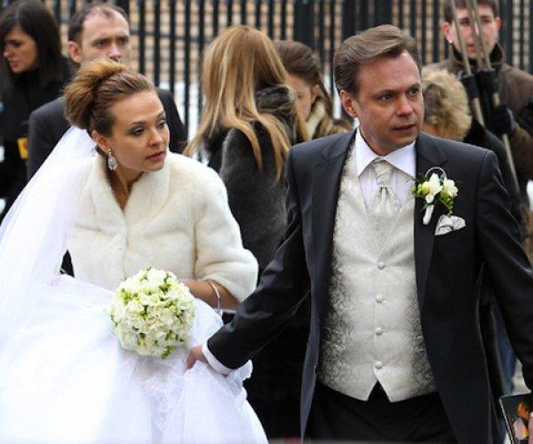 44-летний Владимир Левкин и его супруга