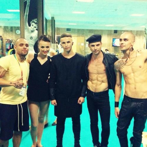 Группа KAZAKY выступила на Чемпионате мира по художественной гимнастике