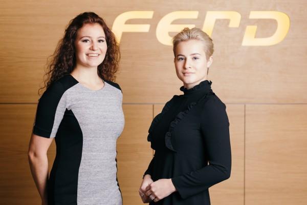 Александра и Катарина Андерсен