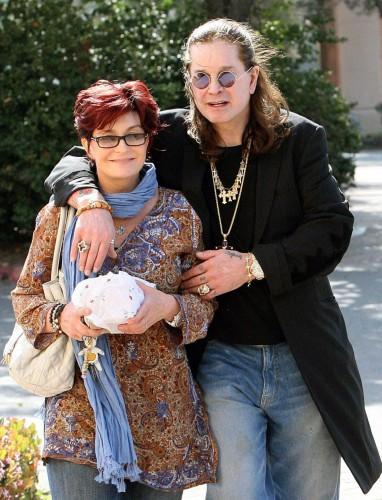 Шерон и Оззи Сборн