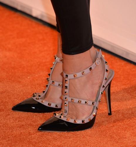 Туфли с шипами от Valentino