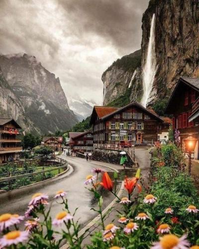 Долина Лаутербруннен (Швейцария)