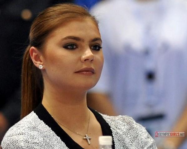 Российская гимнастка Алина Кабаева