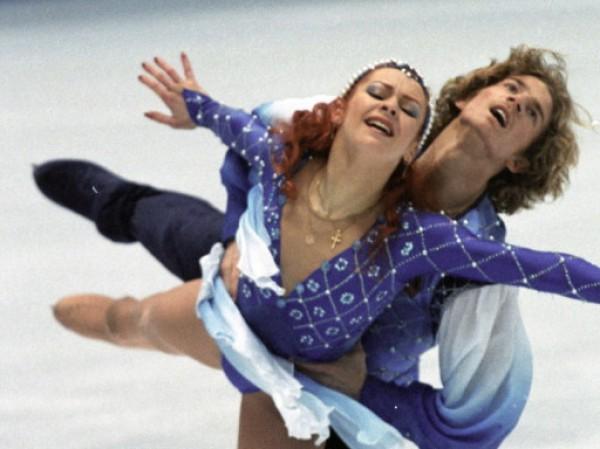 Марина Анисина и ее новый возлюбленный, партнер по танцам на льду Гвендаль Пейзар