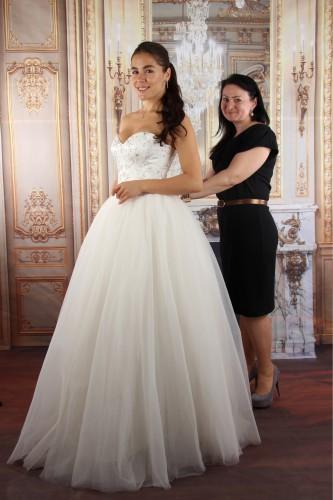 Иванна Онуфрийчук и дизайнер Наталья Бойко фото