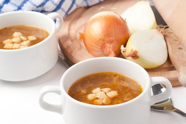 Рецепт                  Луковый суп с сельдереем