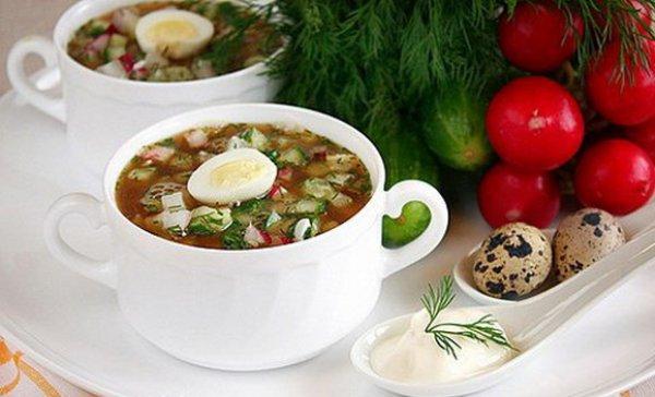 Рецепты летних холодных супов