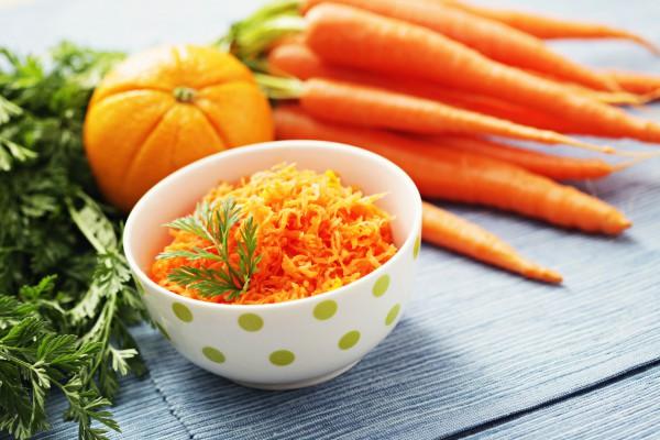 Рецепт                  Морковный салат с апельсином