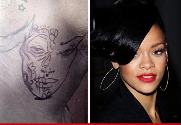 Эксперты-татуировщики авторитетно заявляют, что изображение на шее у Криса Брауна – избитая Рианна