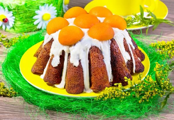Рецепт                  Пасхальный кекс с абрикосами