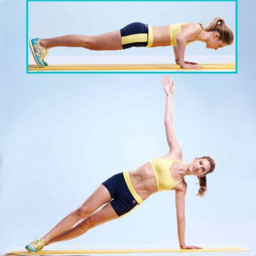 Это упражнение поможет быстро привести в тонус мышцы