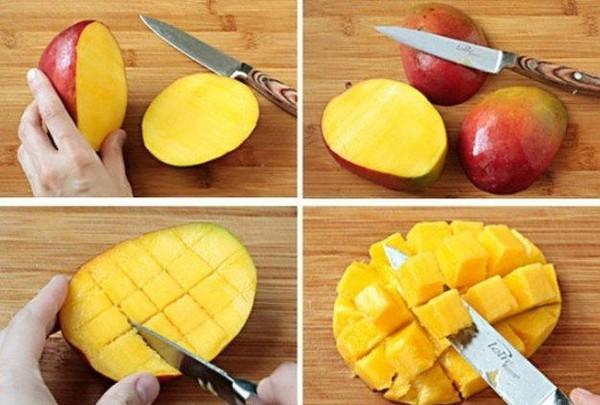 Разделка манго