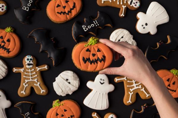 Домашнее печенье на Хэллоуин