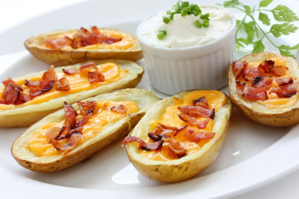 картофельные лодочки рецепты с ветчиной