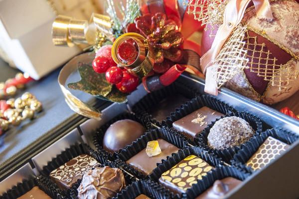 Шоколадный подарки на новый год