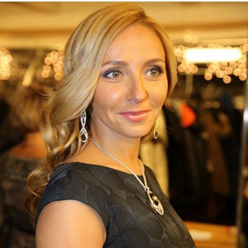 Российская фигуристка Татьяна Навка