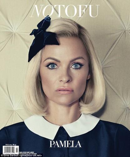 Памела Андерсон на обложке журнала