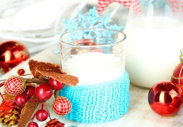 Яичный рождественский коктейль