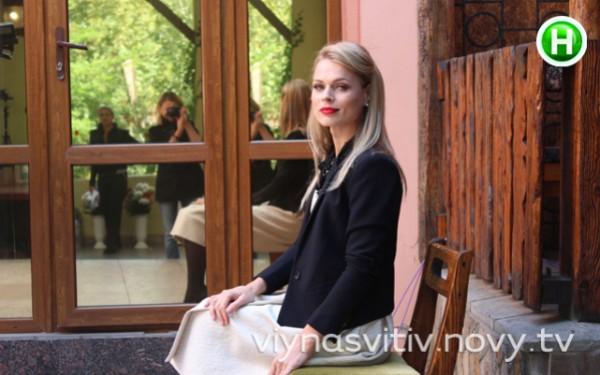 Ольга Фреймут на съемках нового проекта