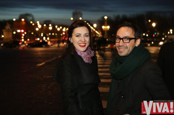 Соломия Витвицкая с Романом Баяндом в Париже