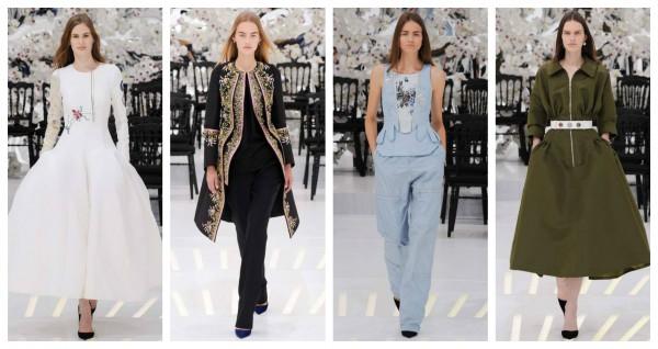 Прекрасная эпоха: Кутюрная коллекция бренда Christian Dior