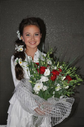 София Тарасова из Украины заняла второе место на Детском Евровидении 2013