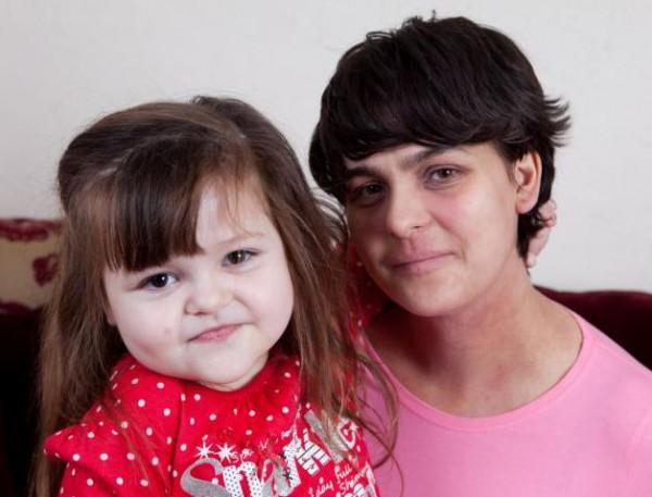 5-летняя Тилли с мамой
