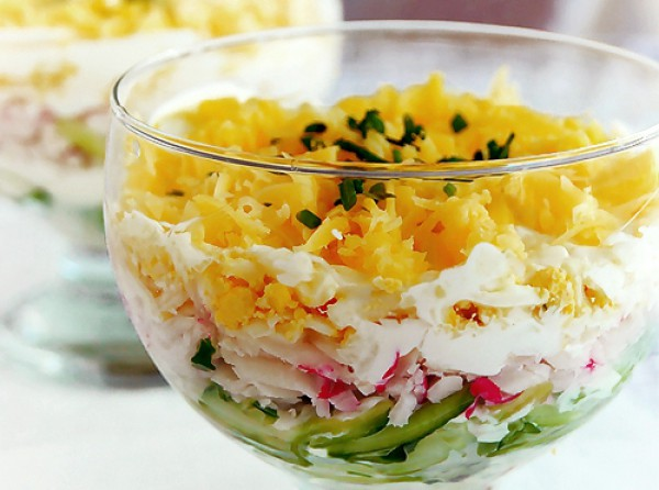 как приготовить салаты рецепты с фото