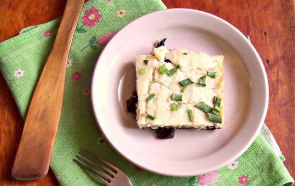 Рецепт                  Постная картофельная запеканка с грибами