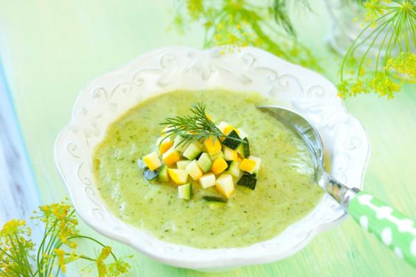 Рецепт                  Крем-суп из кабачков и картофеля