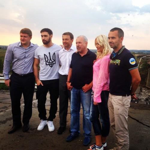 Маша Гойя показала фото разрушеной Семеновки