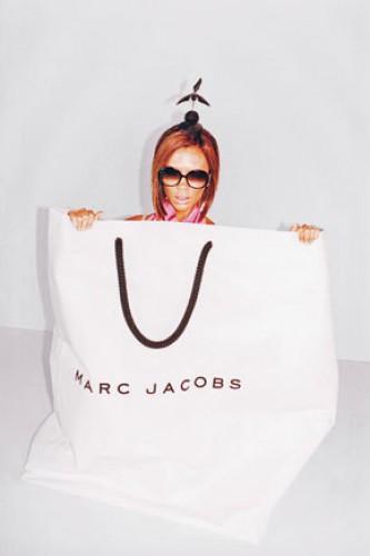Виктория Бекхэм в рекламе Marc Jacobs